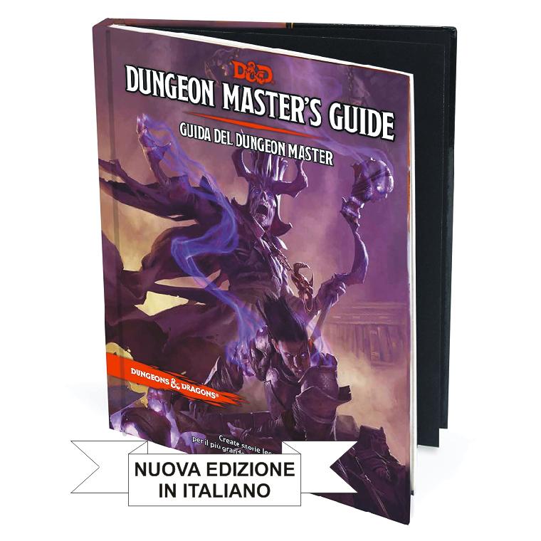 DUNGEONS & DRAGONS 5A EDIZIONE - GUIDA DEL DUNGEON MASTER (NUOVA EDIZIONE)