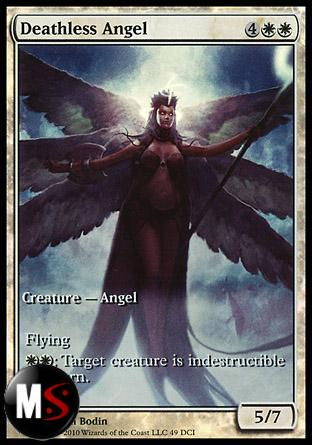 DEATHLESS ANGEL (RISE OF THE ELDRAZI GAME DAY) (EXTENDED ART)