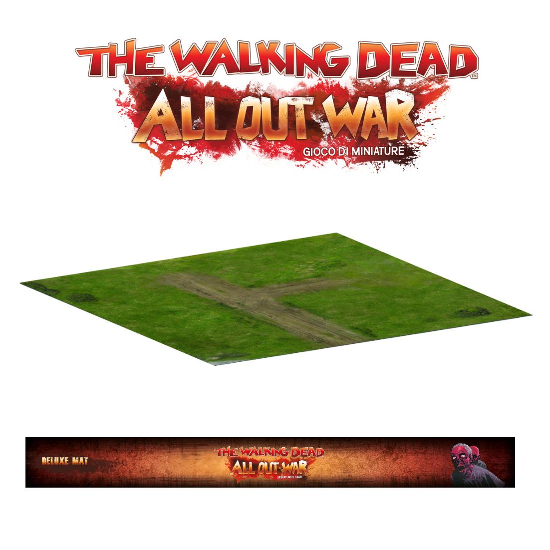THE WALKING DEAD - GIOCO DI MINIATURE - DELUXE GREENE FARM MAT - ACCESSORI