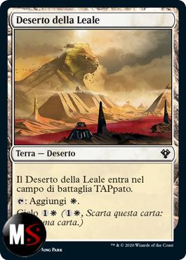 DESERTO DELLA LEALE