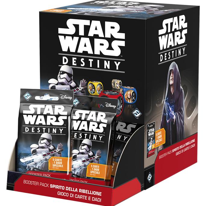 STAR WARS: DESTINY - BOOSTER PACK SPIRITO DELLA RIBELLIONE (BOX 36 PZ)