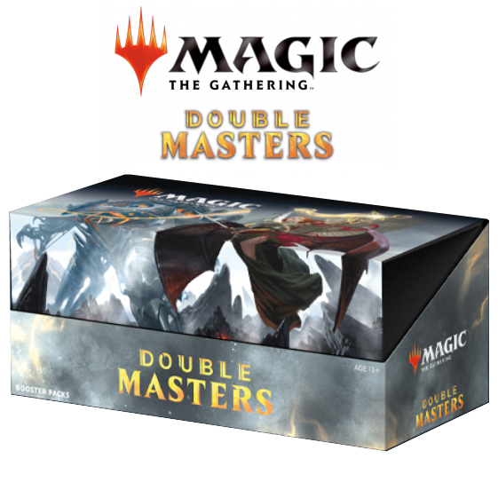 DOUBLE MASTERS DRAFT BOOSTERS (BOX 24 PZ) - INGLESE