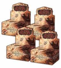 FLESH & BLOOD TCG: MONARCH UNLIMITED - 4 BOX - 1 CASE SIGILLATO