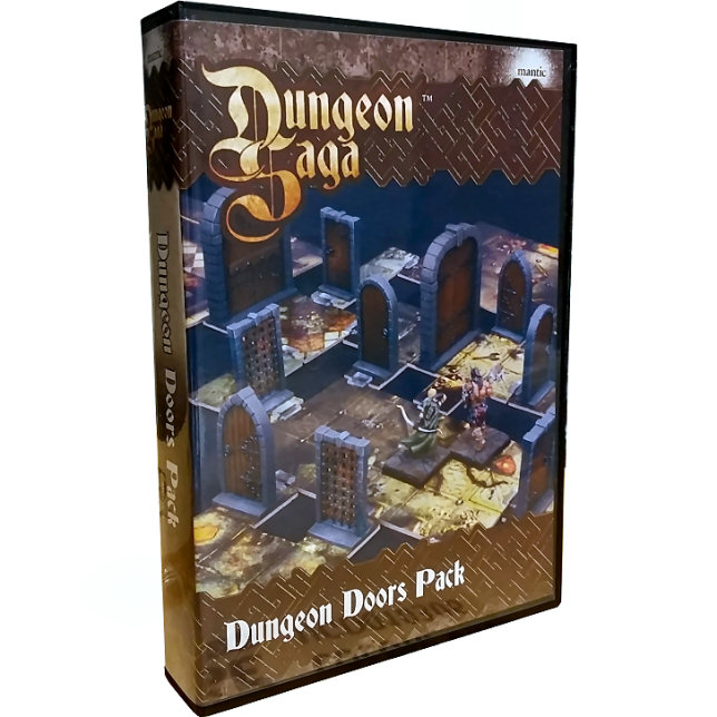 DUNGEON SAGA: DUNGEON DOORS PACK - ACCESSORI