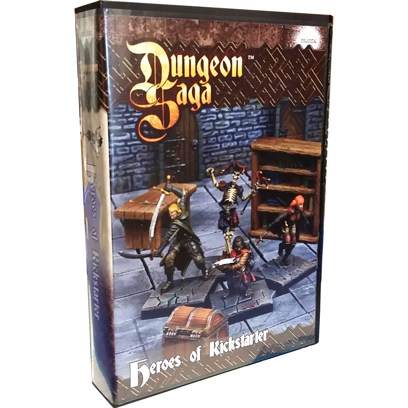 DUNGEON SAGA: HEROES OF KICKSTARTER - ACCESSORI