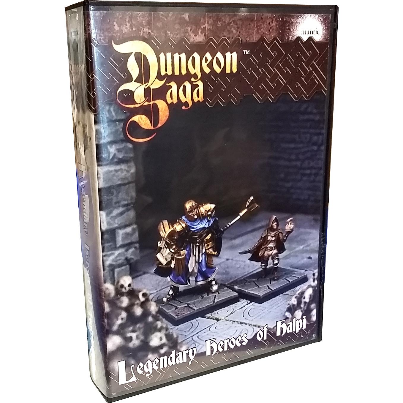 Dungeon saga legendary heroes of halpi gioco tavolo board - Dungeon gioco da tavolo ...