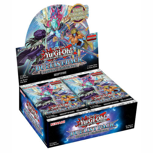 DUELIST PACK GUARDIANI DIMENSIONALI - BOX 36 BUSTE ITA