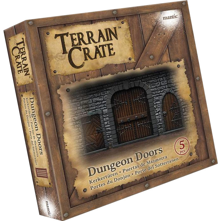TERRAINCRATE - DUNGEON DOORS - ACCESSORI