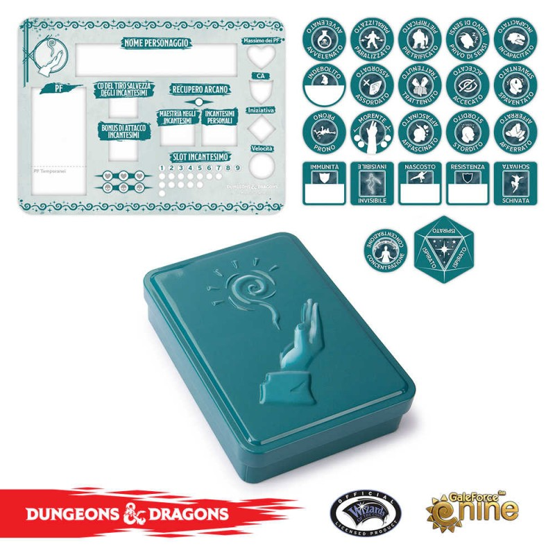 DUNGEONS & DRAGONS 5A EDIZIONE - SET SEGNALINI DEL MAGO