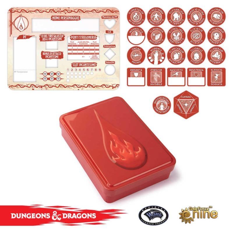 DUNGEONS & DRAGONS 5A EDIZIONE - SET SEGNALINI DELLO STREGONE