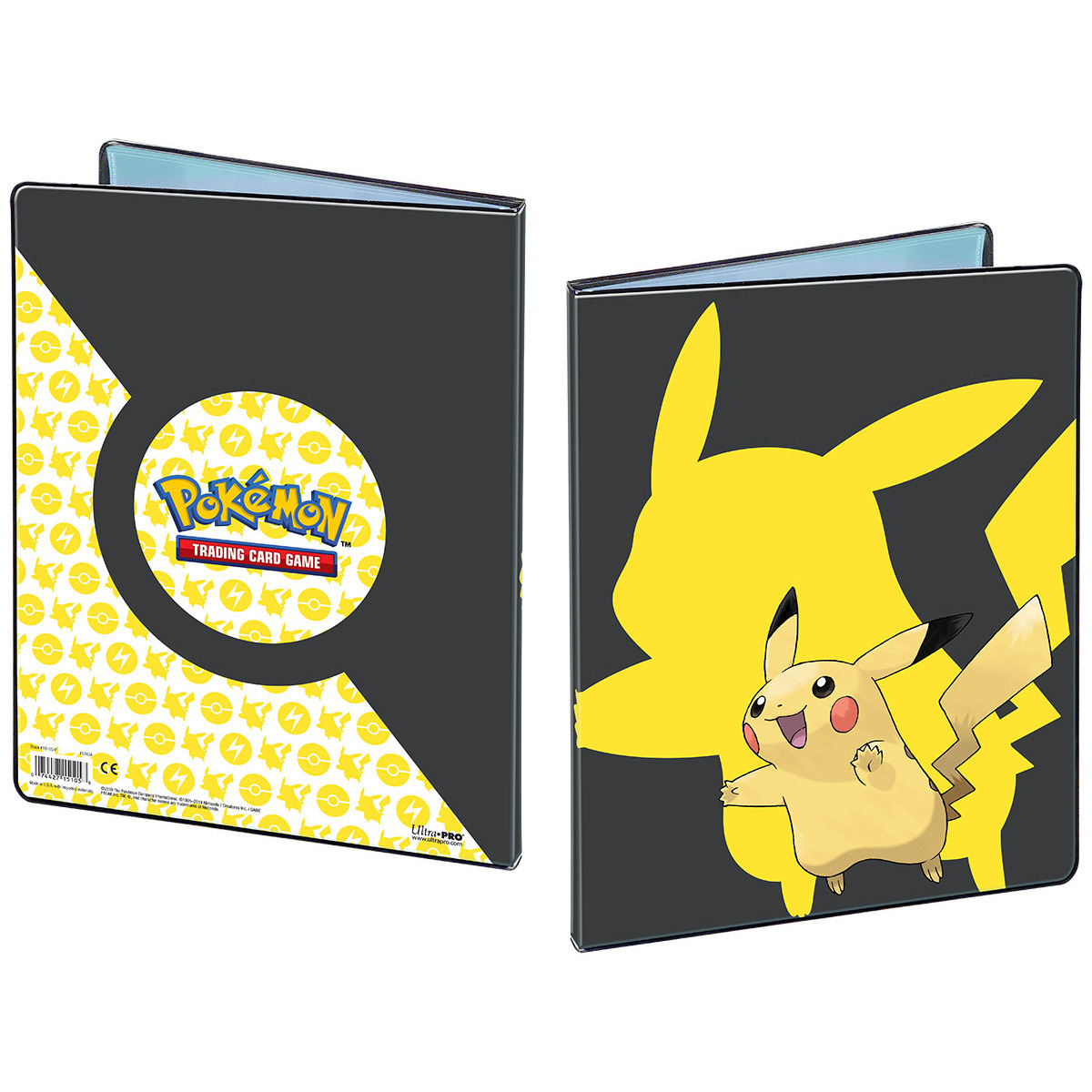 E-15105-P PICKACHU 9-POCKET PORTFOLIO FOR POKEMON