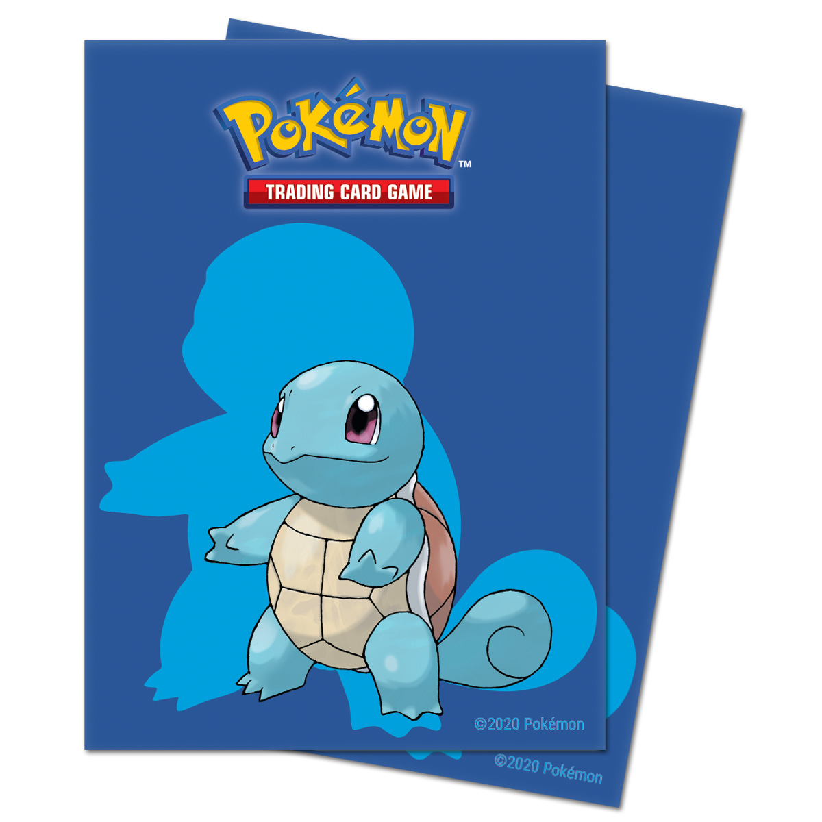 E-15387 SQUIRTLE DECK PROTECTOR SLEEVES FOR POKEMON 65PZ