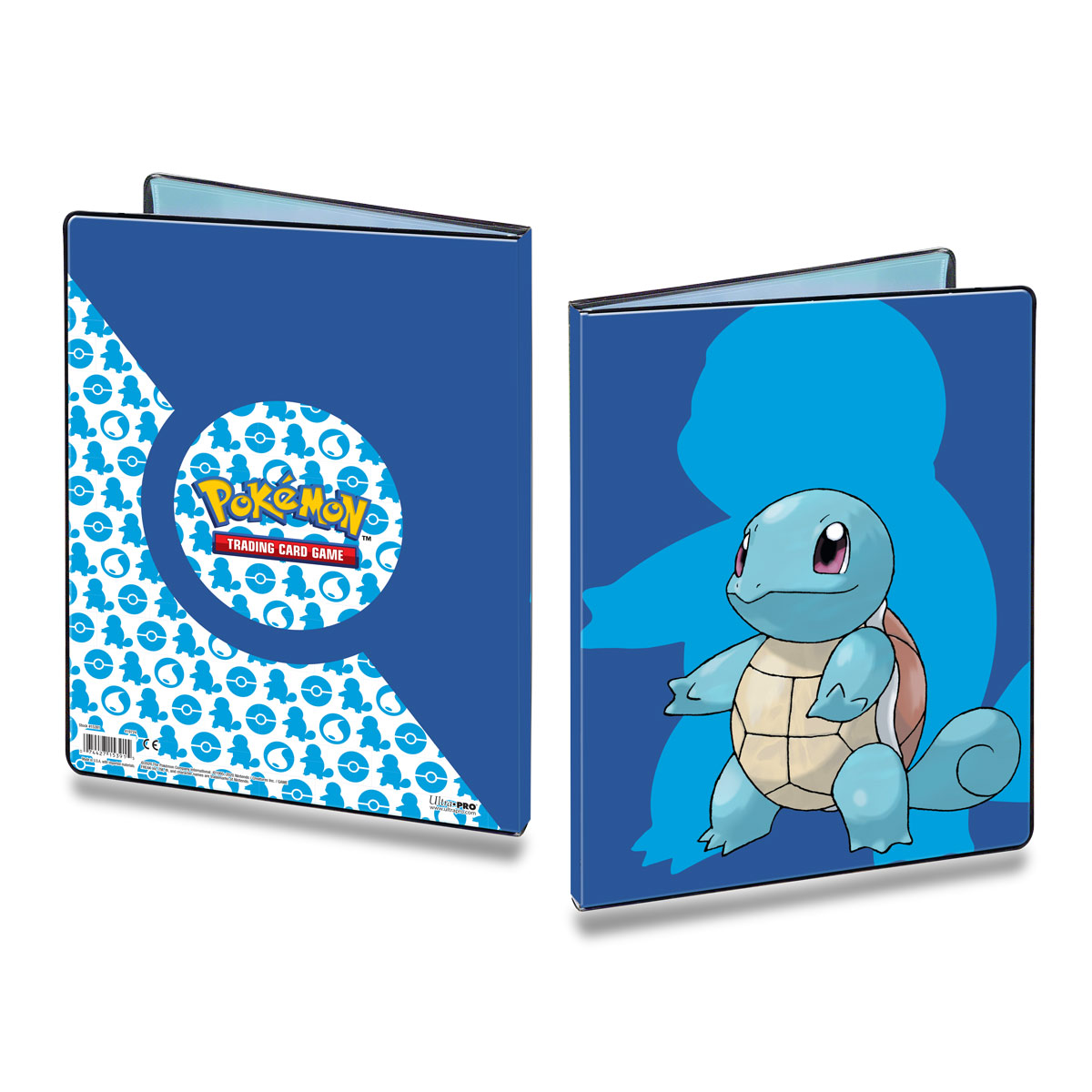 E-15391 SQUIRTLE 9-POCKET PORTFOLIO FOR POKEMON