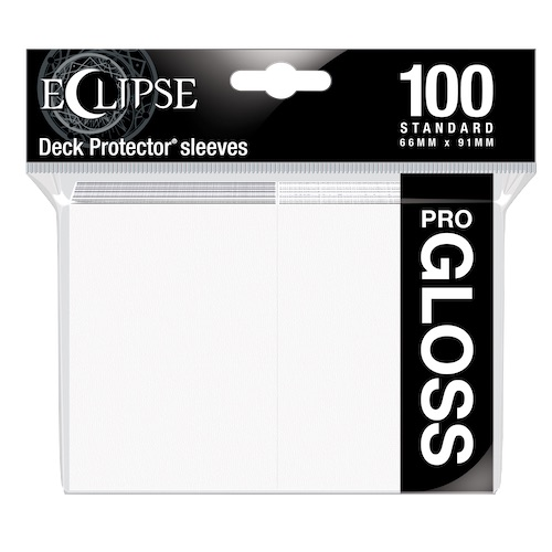 E-15600	ECLIPSE GLOSS STANDARD SLEEVES: ARCTIC WHITE