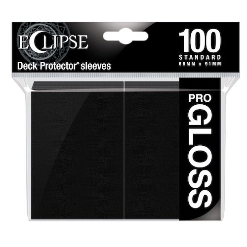 E-15601	ECLIPSE GLOSS STANDARD SLEEVES: JET BLACK