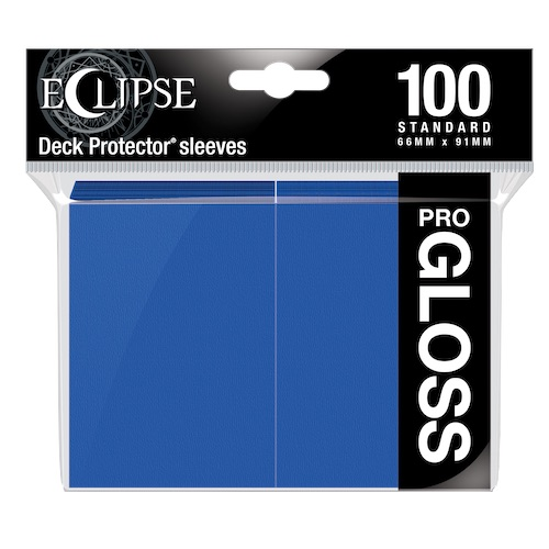 E-15602	ECLIPSE GLOSS STANDARD SLEEVES: PACIFIC BLUE