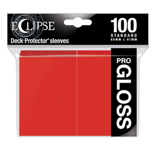 E-15604	ECLIPSE GLOSS STANDARD SLEEVES: APPLE RED