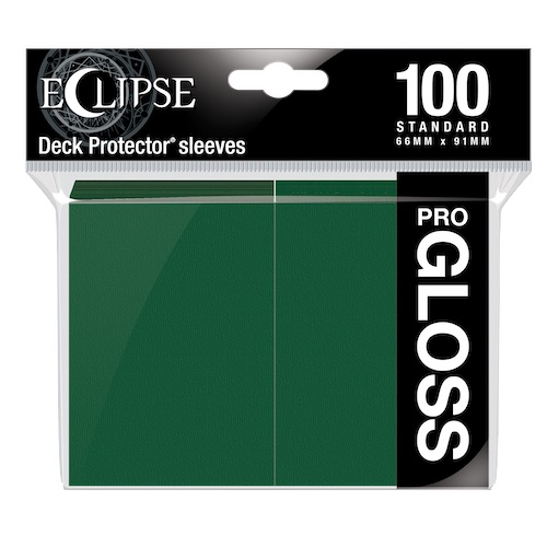 E-15605	ECLIPSE GLOSS STANDARD SLEEVES: FOREST GREEN