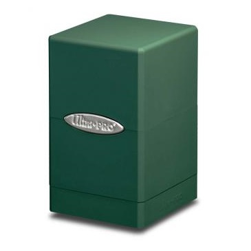 E-84176 SATIN TOWER GREEN DECK BOX