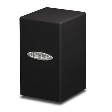 E-84173 SATIN TOWER BLACK DECK BOX