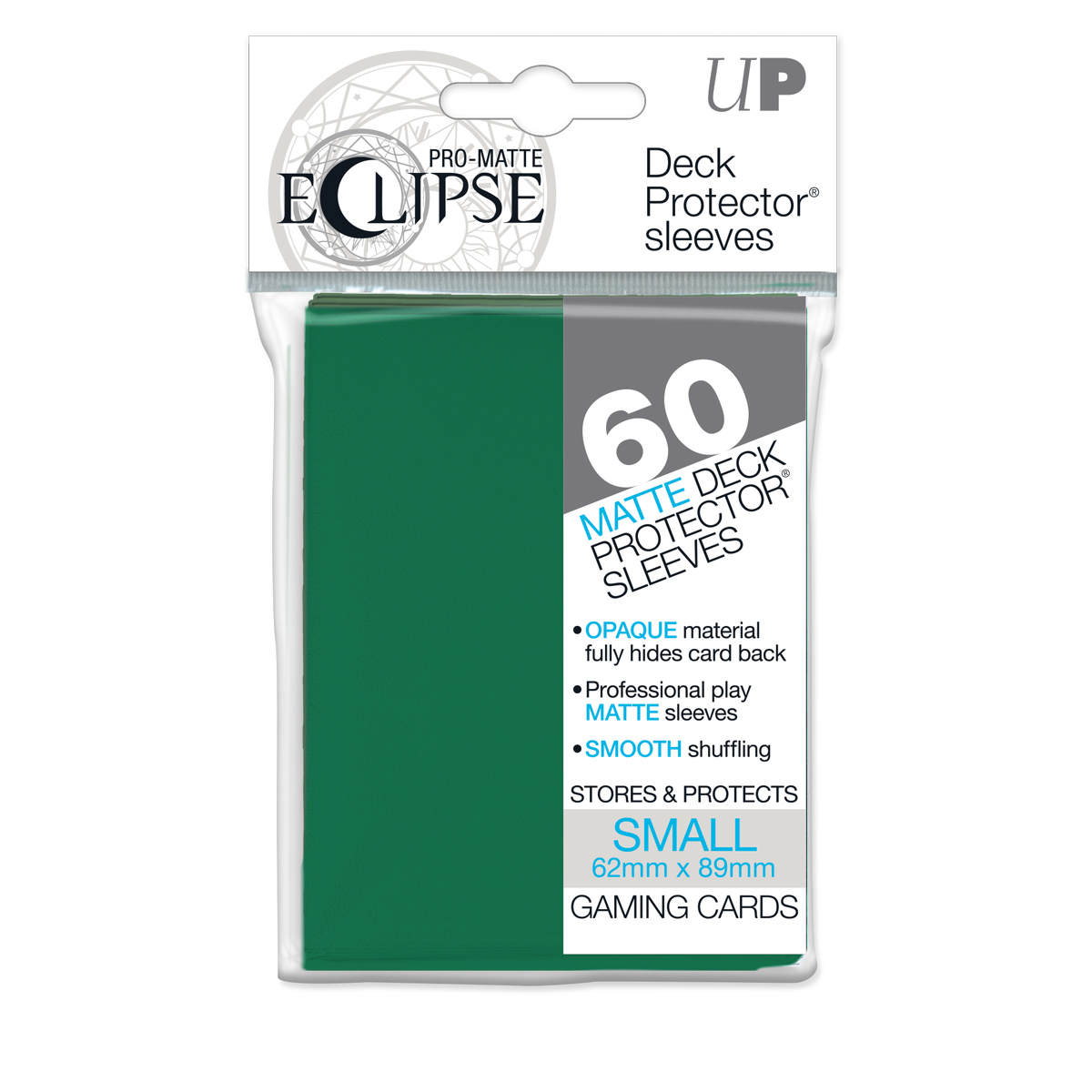 E-85831	ECLIPSE MATTE SMALL SLEEVES - FOREST GREEN