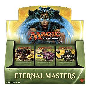 ETERNAL MASTERS - BOX 24 BUSTE INGLESE