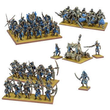 KINGS OF WAR EMPIRE OF DUST ARMY - INGLESE