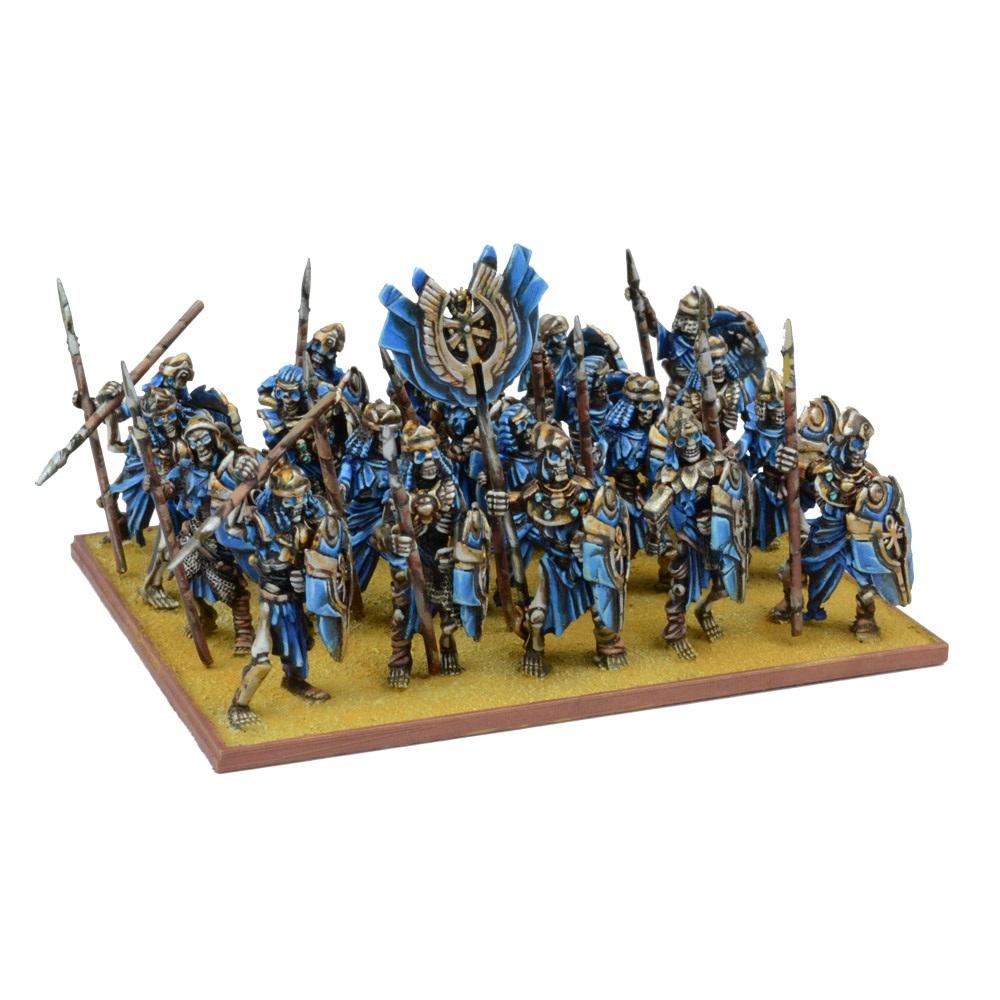 KINGS OF WAR EMPIRE OF DUST SKELETON REGIMENT - INGLESE