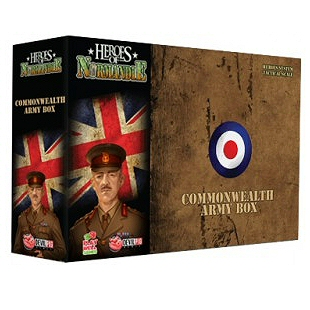 HEROES OF NORMANDIE - ESP.NE COMMONWEALTH ARMY BOX - ITA