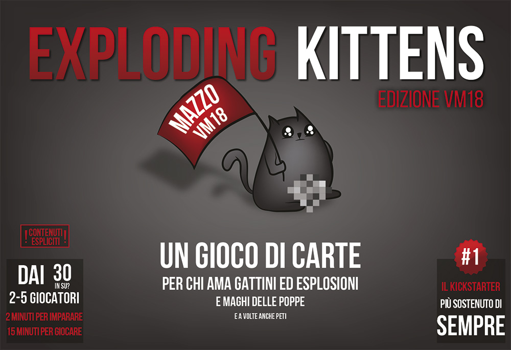 EXPLODING KITTENS - EDIZIONE VM18