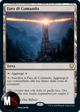 FARO DI COMANDO - FOIL