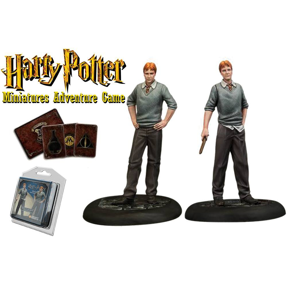 HP FRED & GEORGE WEASLEY MINIATURE ADVENTURE GAME