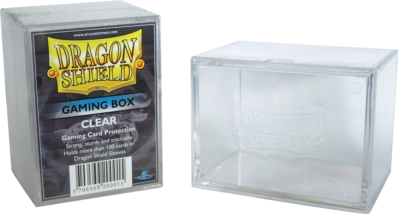 GAMING BOX - CLEAR (CONTIENE PIU' DI 100 CARTE CON LE BUSTE)