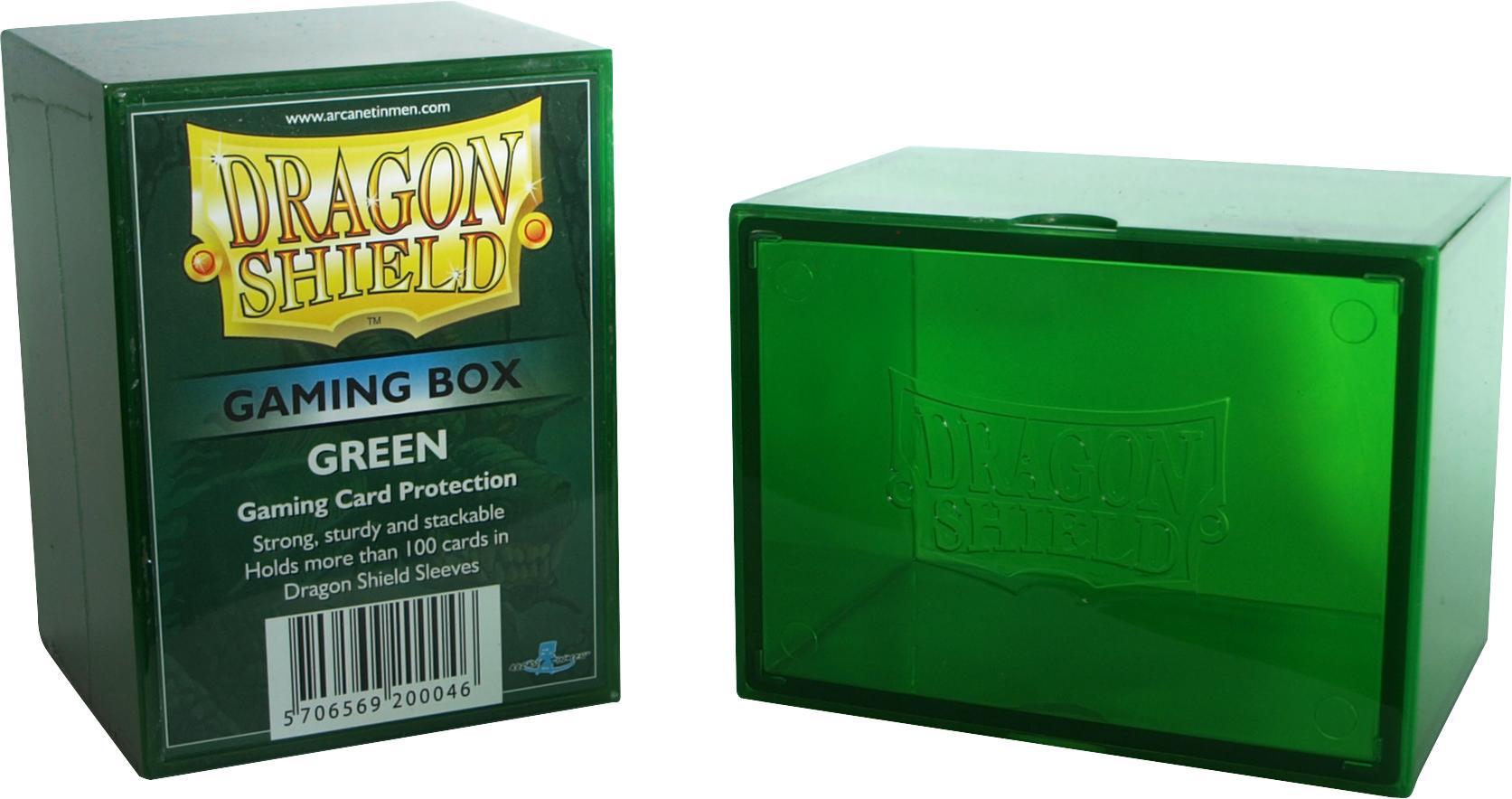 GAMING BOX - GREEN (CONTIENE PIU' DI 100 CARTE CON LE BUSTE)