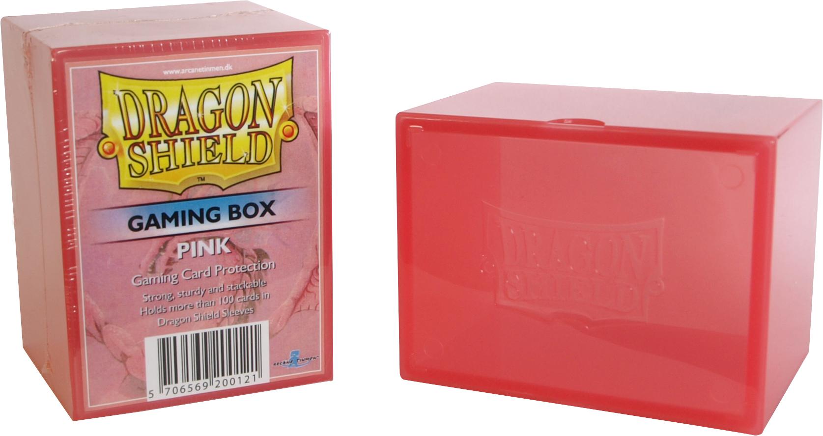 GAMING BOX - PINK (CONTIENE PIU' DI 100 CARTE CON LE BUSTE)