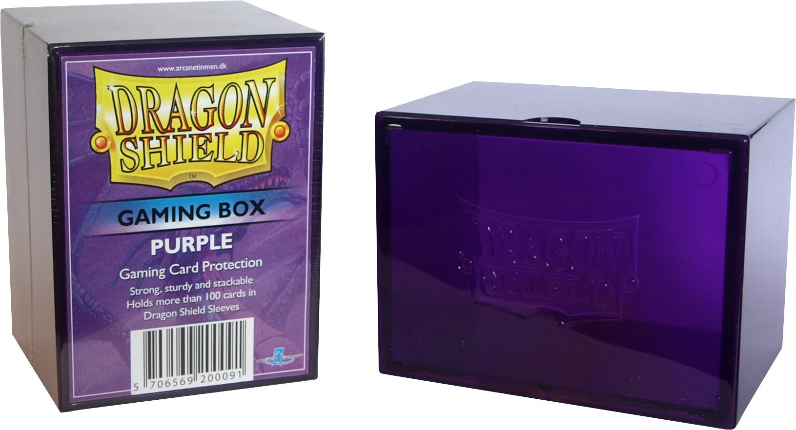 GAMING BOX - PURPLE (CONTIENE PIU' DI 100 CARTE CON LE BUSTE)
