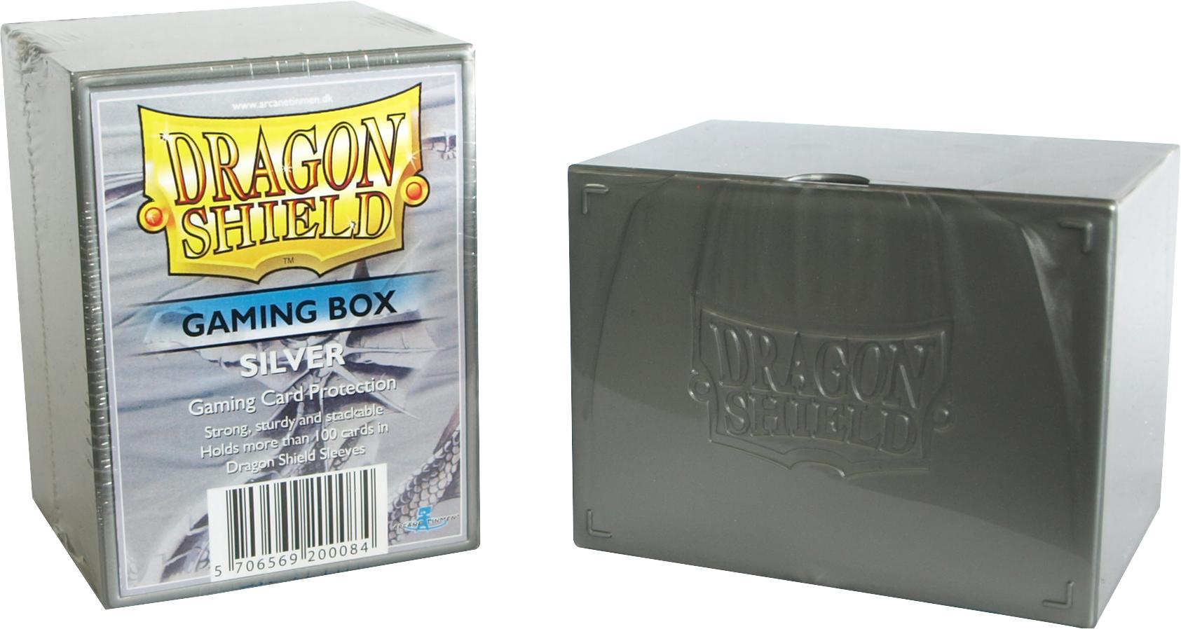 GAMING BOX - SILVER (CONTIENE PIU' DI 100 CARTE CON LE BUSTE)