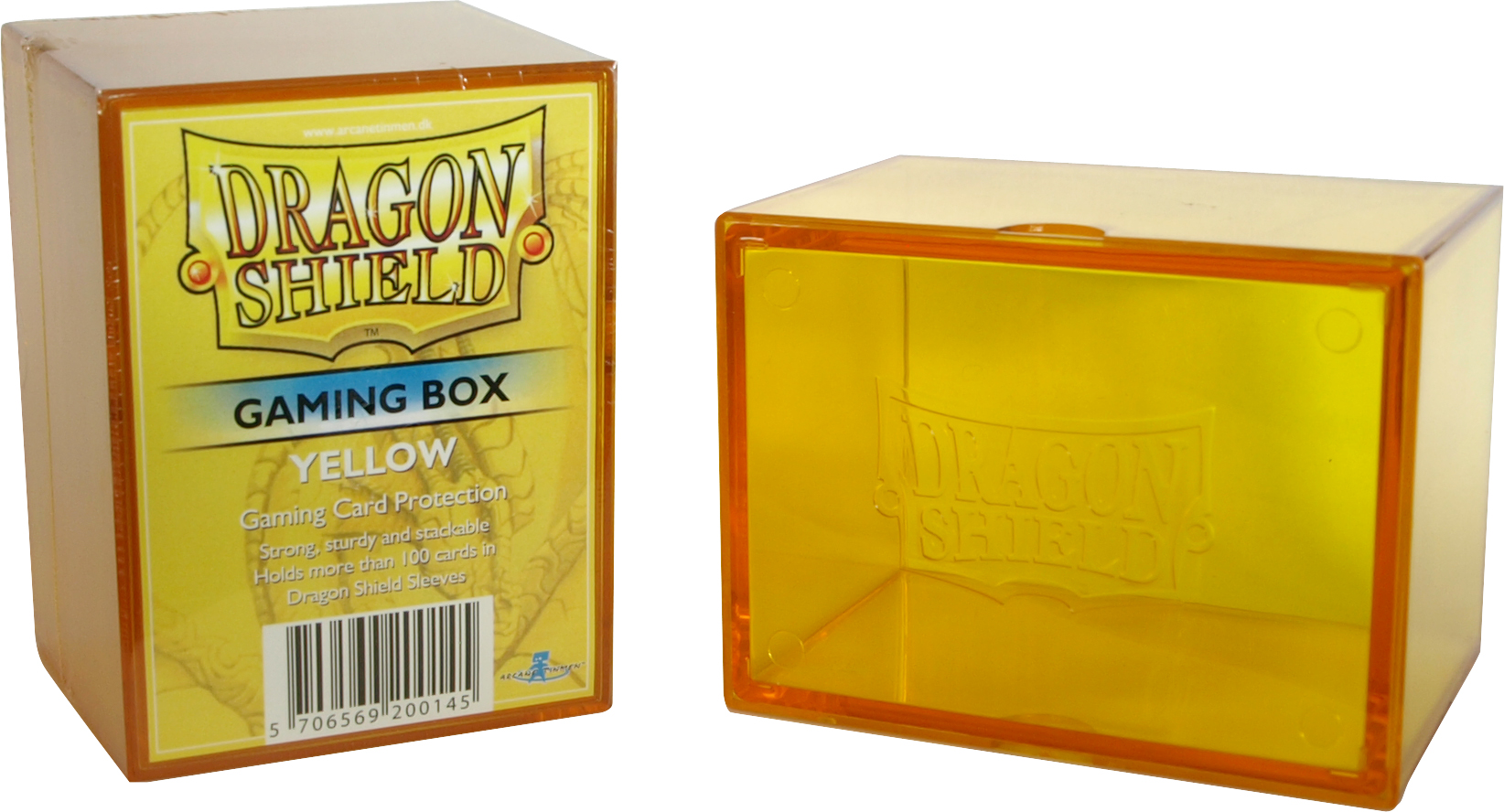 GAMING BOX - YELLOW (CONTIENE PIU' DI 100 CARTE CON LE BUSTE)
