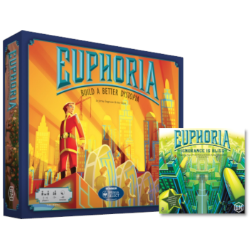 EUPHORIA: BUILD A BETTER DYSTOPIA + ESPANSIONE - ITALIANO