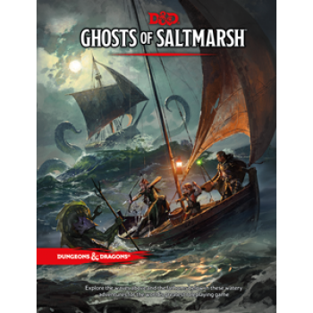 DUNGEONS & DRAGONS 5A EDIZIONE - GHOSTS OF SALTMARSH