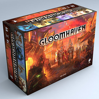 GLOOMHAVEN 2ND EDITION - INGLESE