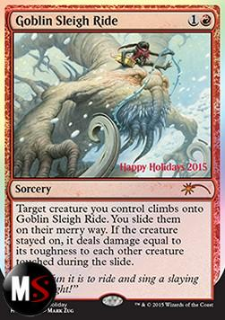 GOBLIN SLEIGH RIDE - HAPPY HOLIDAY 2015