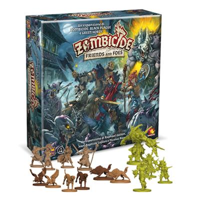 ZOMBICIDE BLACK PLAGUE - GREEN HORDE: FRIENDS AND FOES