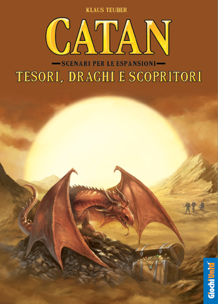 CATAN - TESORI,DRAGHI E SCOPRITORI