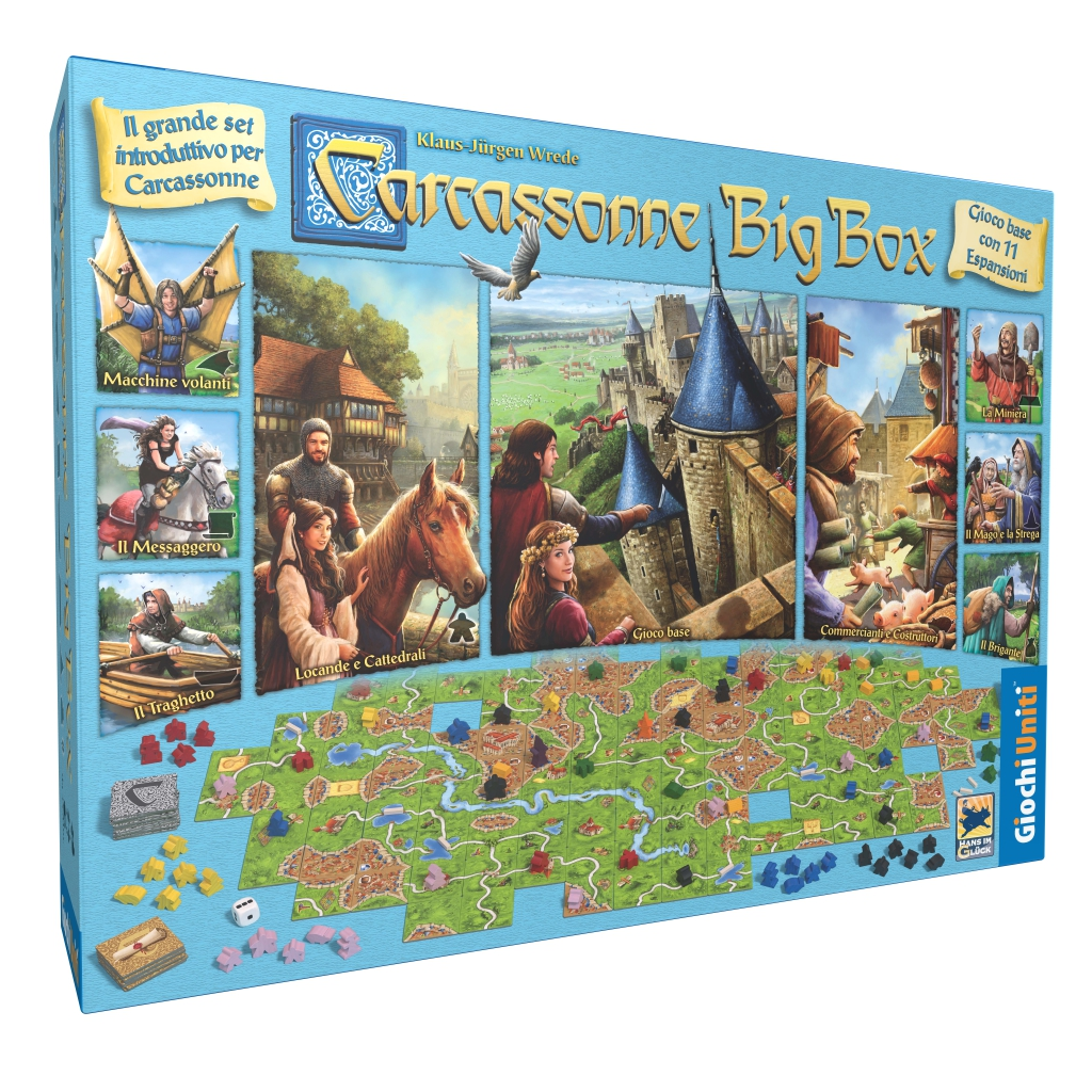 CARCASSONNE BIG BOX - ED. 2017