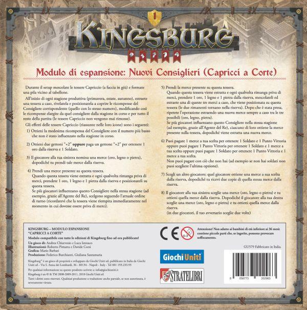 KINGSBURG - CAPRICCI A CORTE