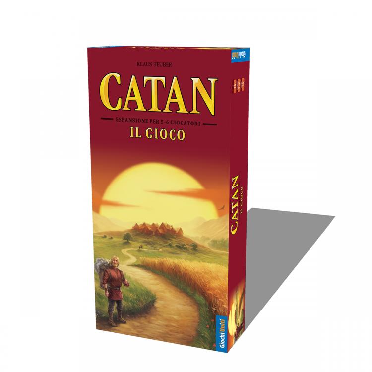 CATAN - ESPANSIONE 5/6 GIOCATORI