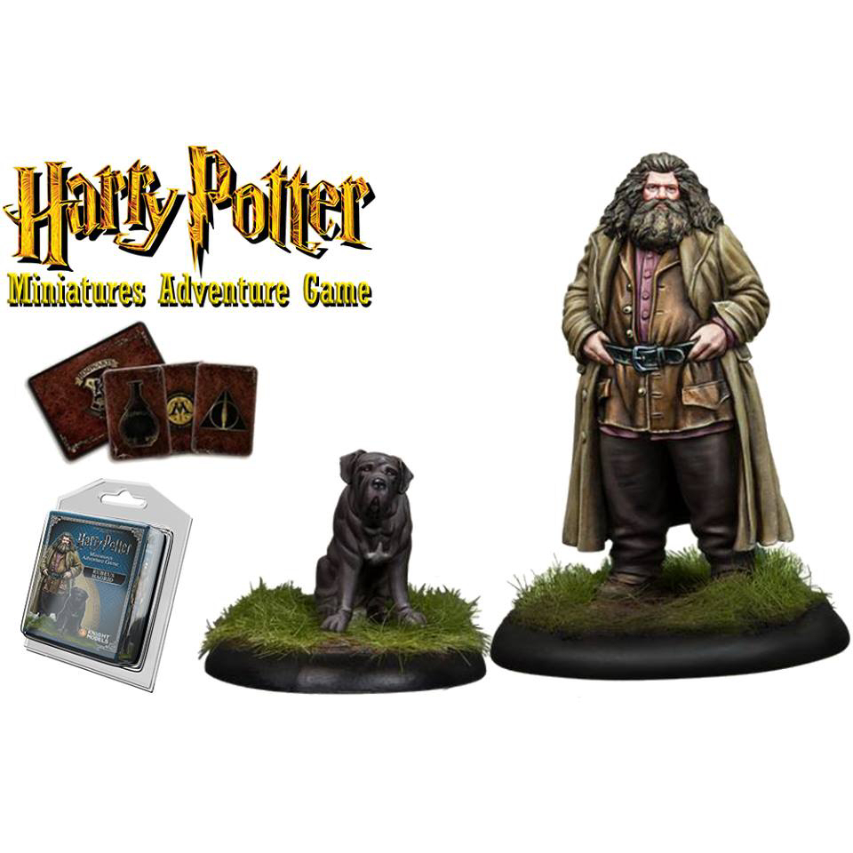 HP RUBEUS HAGRID MINIATURE ADVENTURE GAME