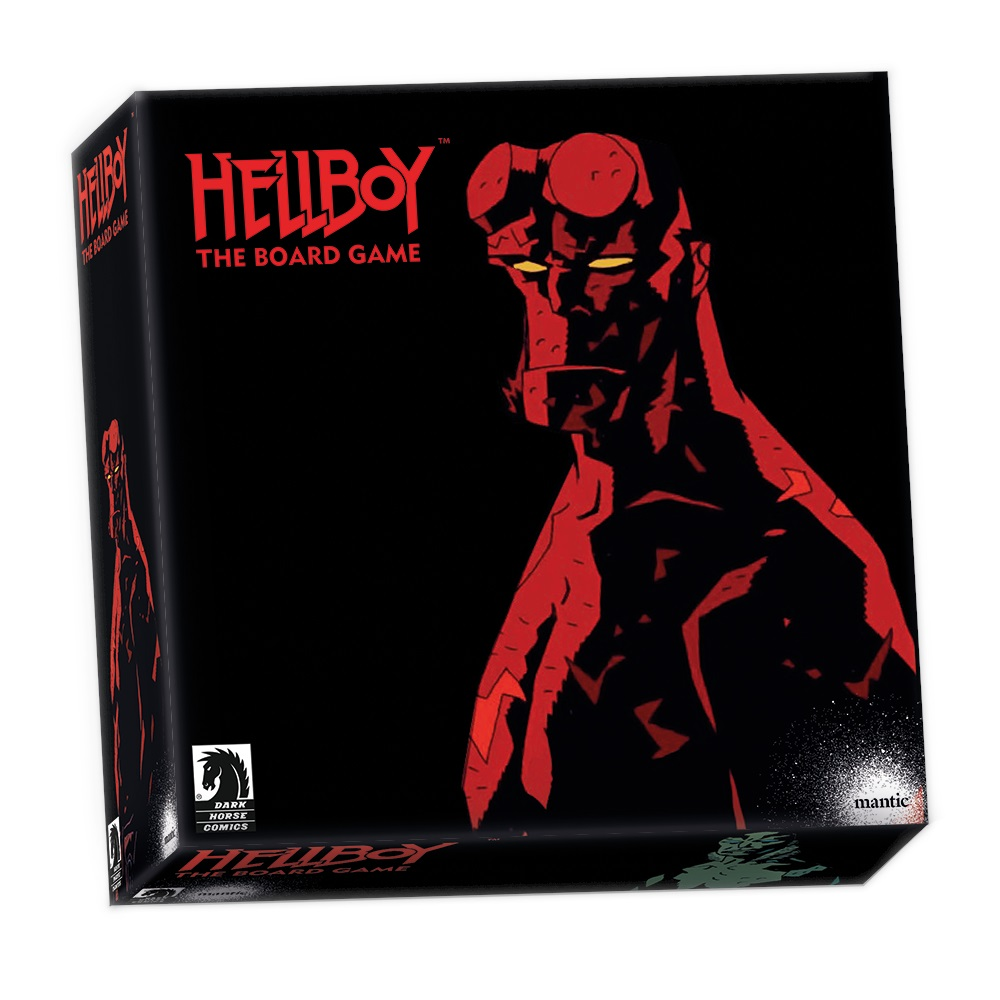 HELLBOY - THE BOARD GAME - INGLESE