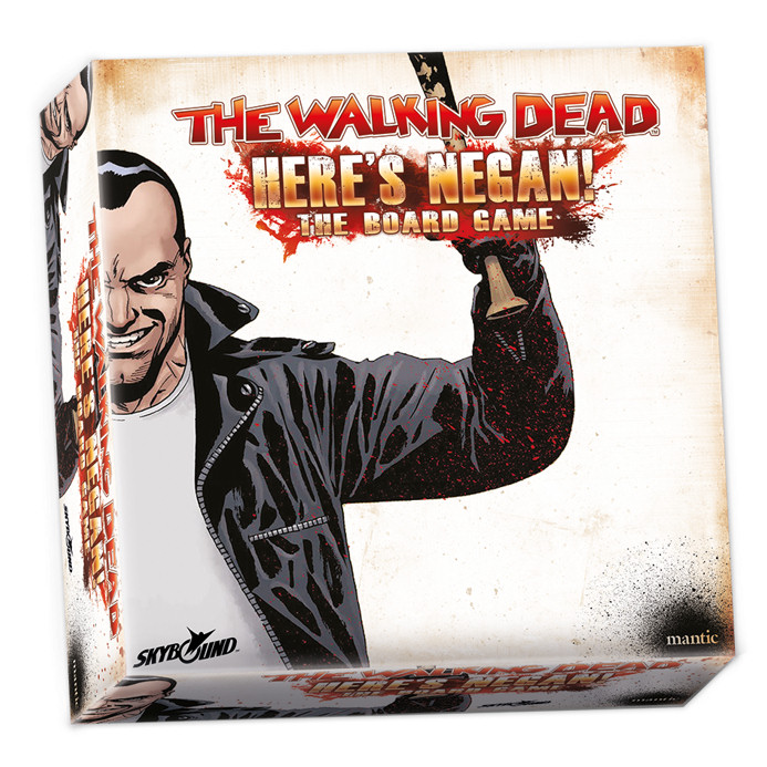 HERE'S NEGAN - THE WALKING DEAD - THE BOARD GAME - INGLESE